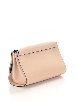Alberta Di Canio Leather Clutch One Size