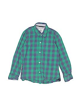 Mini Boden Long Sleeve Button-Down Shirt Size 6 - 7