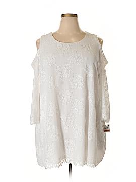 Alfani 3/4 Sleeve Top Size 3X (Plus)