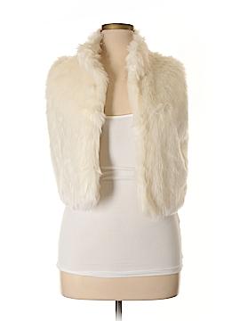 Delia Faux Fur Vest Size XL