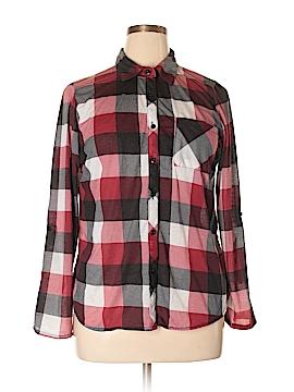 Rue21 Long Sleeve Button-Down Shirt Size XL
