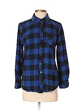 D&Co. Long Sleeve Button-Down Shirt Size S