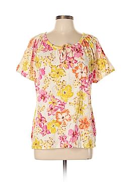Basic Editions Short Sleeve Top Size XL