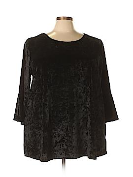 Cynthia Rowley for T.J. Maxx 3/4 Sleeve Top Size 3X (Plus)