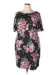 Karen Scott Women Casual Dress Size 1X (Plus)