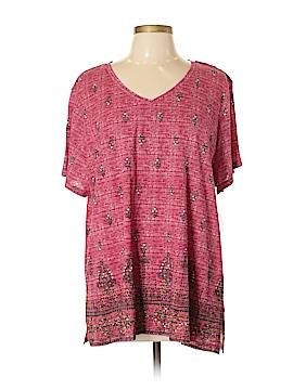 Style&Co Short Sleeve T-Shirt Size 1X (Plus)