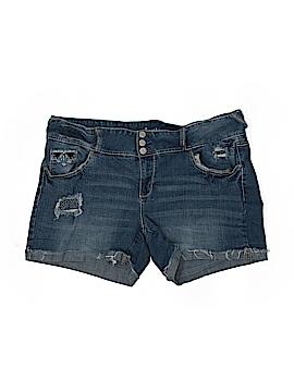 Amethyst Jeans Denim Shorts Size 18 (Plus)