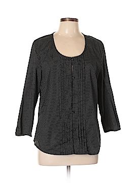 Talbots 3/4 Sleeve Blouse Size L