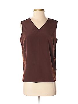 Susan Graver Sleeveless Blouse Size S