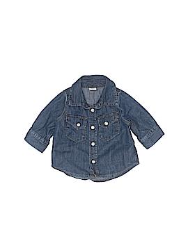 Baby Gap Sleeveless Button-Down Shirt Size 0-3 mo