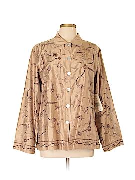 Laura Ashley Long Sleeve Button-Down Shirt Size L
