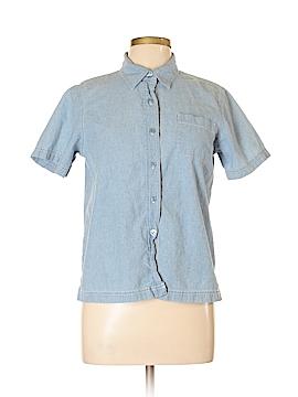 Cappagallo Short Sleeve Button-Down Shirt Size L