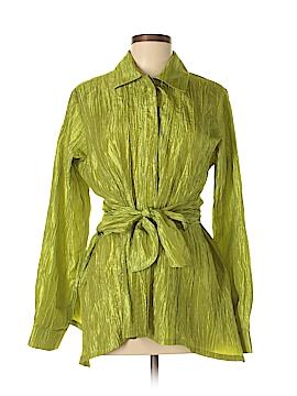 Staples Long Sleeve Blouse Size L