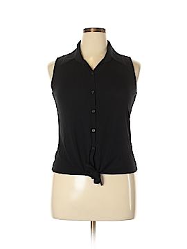 DressBarn Sleeveless Button-Down Shirt Size XL (Petite)