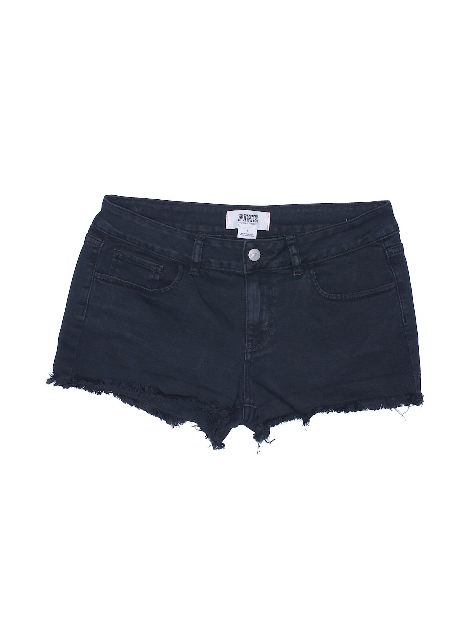 Victoria's Shorts Secret Boutique Pink Denim 4nfXdwY6