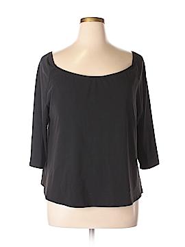 Travelsmith 3/4 Sleeve T-Shirt Size 2X (Plus)