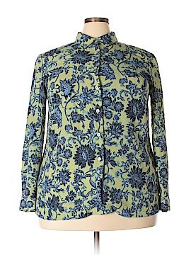 Joan Leslie Long Sleeve Blouse Size 18 (Plus)