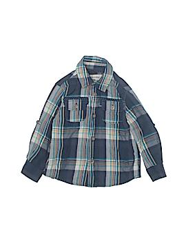 Genuine Kids from Oshkosh Short Sleeve Button-Down Shirt Size 3T