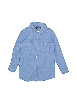 Sean John Long Sleeve Button-Down Shirt Size 2T