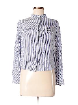 Love, Fire Long Sleeve Button-Down Shirt Size XS (Petite)