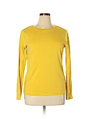 Eddie Bauer Women Long Sleeve T-Shirt Size XL