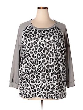 Cathy Daniels 3/4 Sleeve Top Size 3X (Plus)