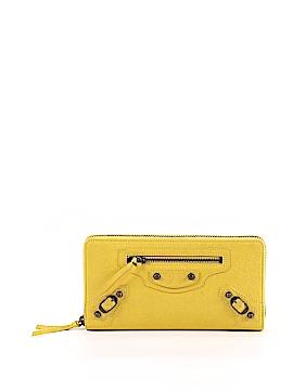 Balenciaga Leather Wallet One Size