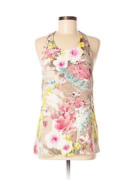 Cynthia Rowley for Marshalls Sleeveless Silk Top Size M