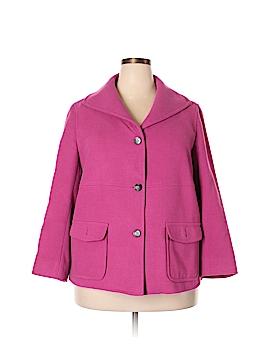 Evan Picone Coat Size 1X (Plus)