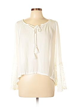 Mono B Long Sleeve Blouse Size M