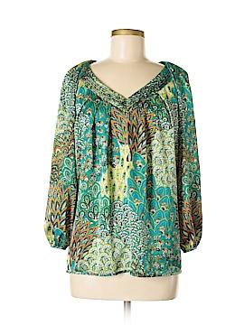 Grace Elements 3/4 Sleeve Blouse Size S