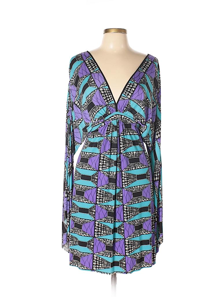 T-Bags Los Angeles Women Casual Dress Size L
