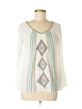 Yahada Long Sleeve Blouse Size S