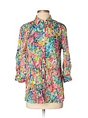 Coldwater Creek Women 3/4 Sleeve Blouse Size XS
