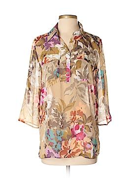 Susan Graver 3/4 Sleeve Blouse Size XS
