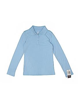 Chaps Long Sleeve Polo Size 8 - 10