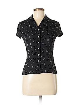 Petite Sophisticate Short Sleeve Blouse Size 2