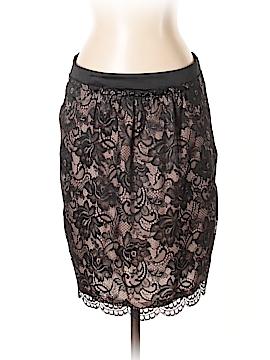 Trina Turk Leather Skirt Size 4