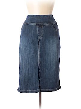 Christopher & Banks Denim Skirt Size 10