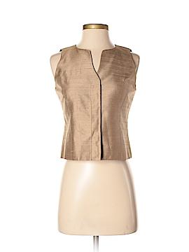 Lafayette 148 New York Tuxedo Vest Size 2 (Petite)