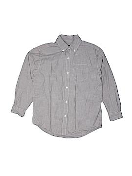 Gap Kids Long Sleeve Button-Down Shirt Size L (Kids)