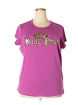 Baby Phat Short Sleeve T-Shirt Size 3X (Plus)