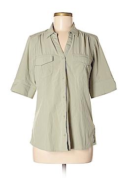 ExOfficio Short Sleeve Button-Down Shirt Size M