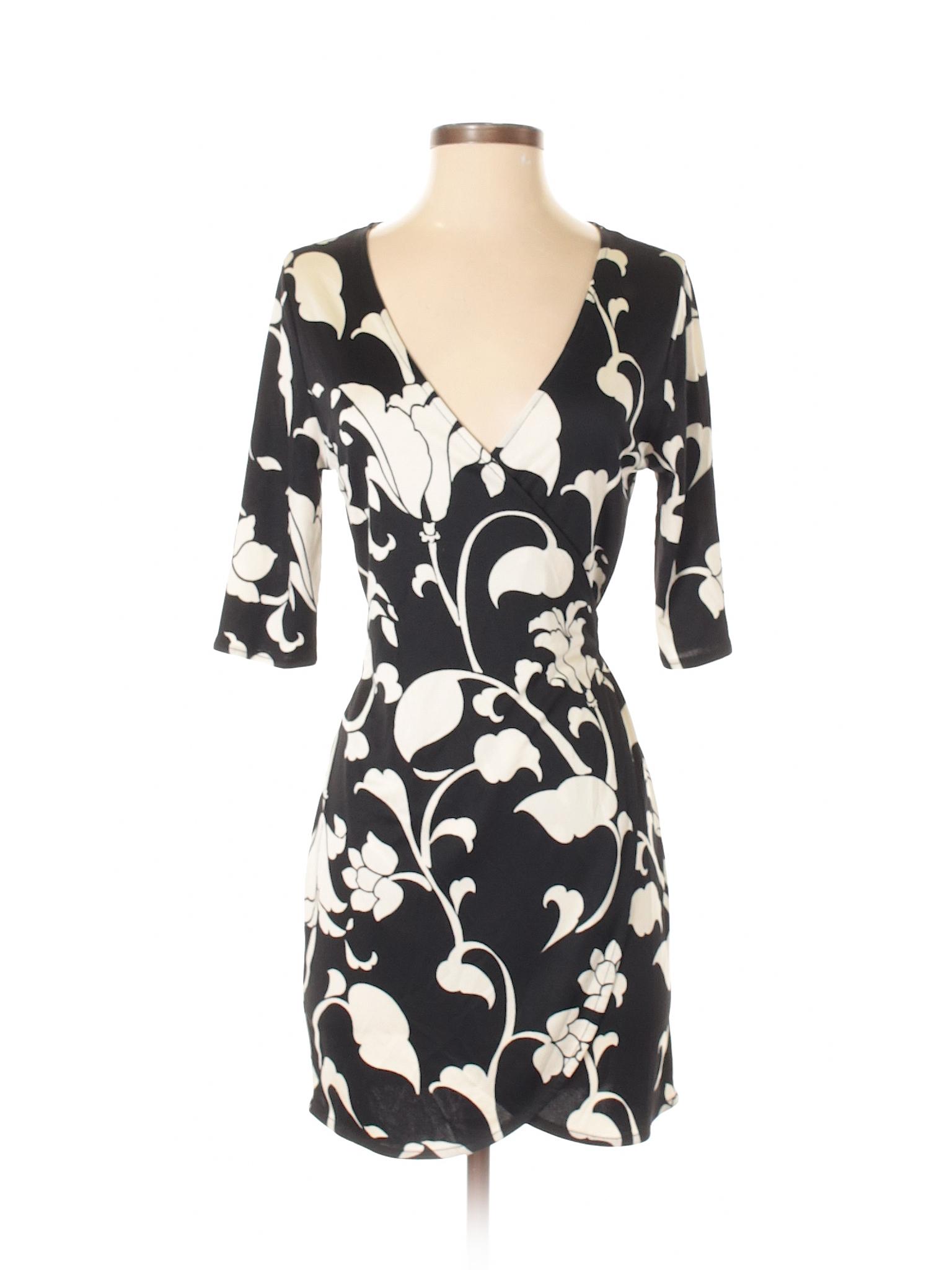 Boutique Market Dress White Casual House Black winter rnFwgqr