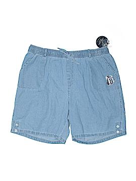 Karen Scott Denim Shorts Size 3X (Plus)