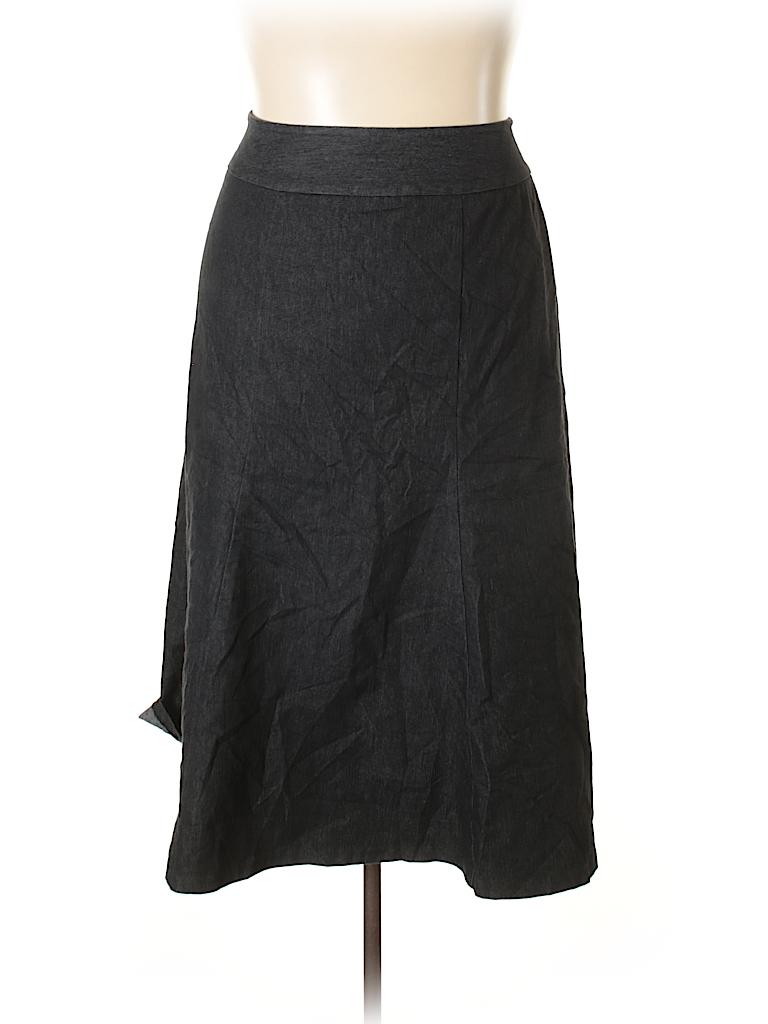 4e8e3bcd06 Cato Chambray Black Denim Skirt Size 20 (Plus) - 45% off   thredUP