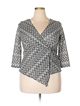 Marks & Spencer 3/4 Sleeve Blouse Size 18 (UK)