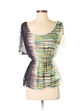 Edme & Esyllte Short Sleeve Silk Top Size 2