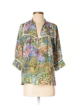 Dolan 3/4 Sleeve Silk Top Size S