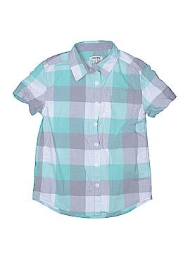 Cherokee Short Sleeve Button-Down Shirt Size 8 - 10